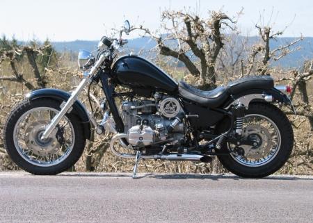 Мотоциклы › технические характеристики: Мотоцикл Урал Волк: первый ...