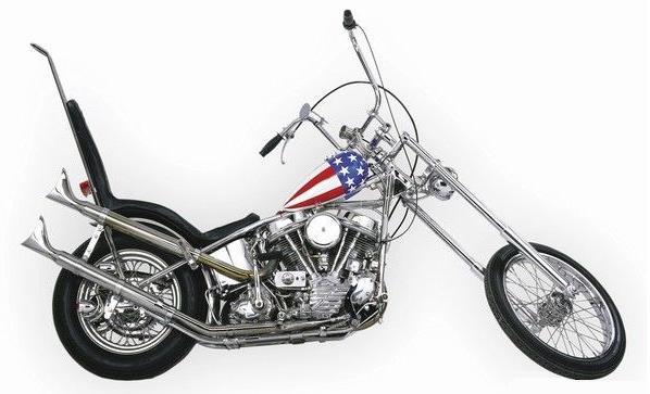 А вот стоковые мотоциклы этого стиля, Стид, Интрудер, Вирага.